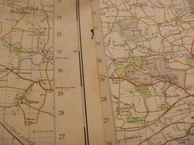 1950s OS Maps