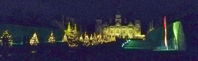 Blickling at night