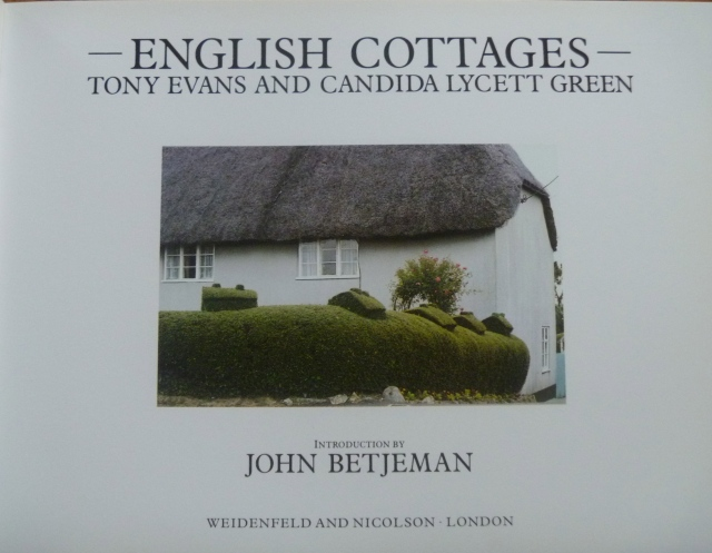 English Cottages book
