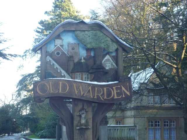 Old Warden sign 2012