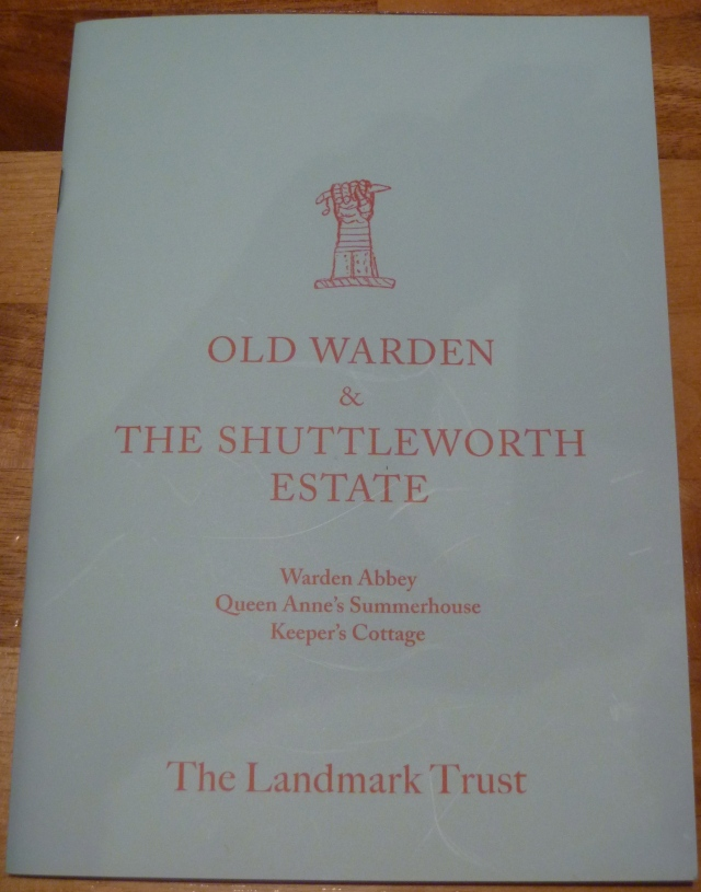 Old Warden Booklet
