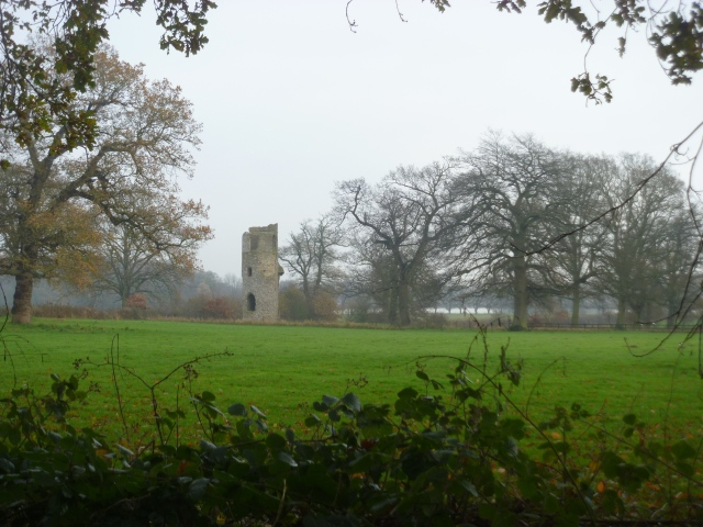 Wolterton church ruin