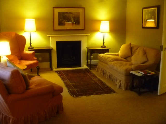 Sitting room at Fish Court