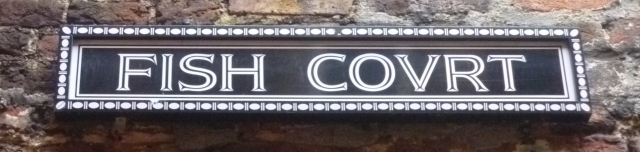 Fish Court sign