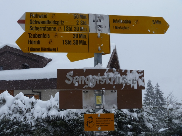 Adelboden sign