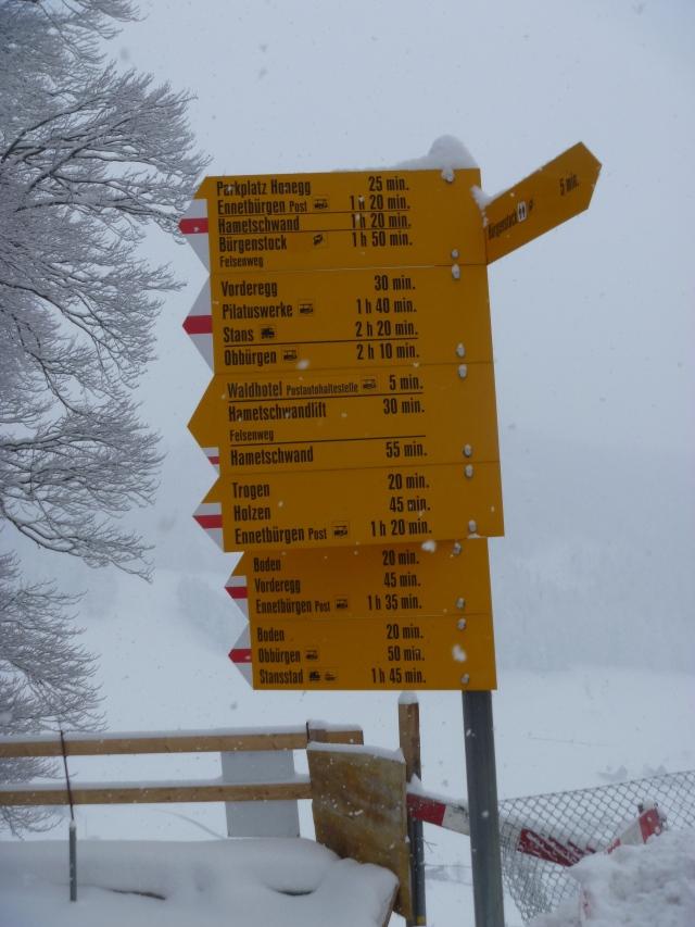 B.Stock signpost