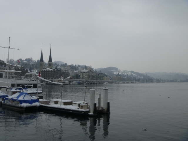 Lucerne and the lake
