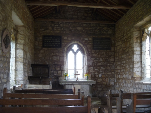 Interior St Mary's Lead