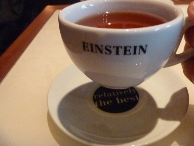 Tea at Einstein