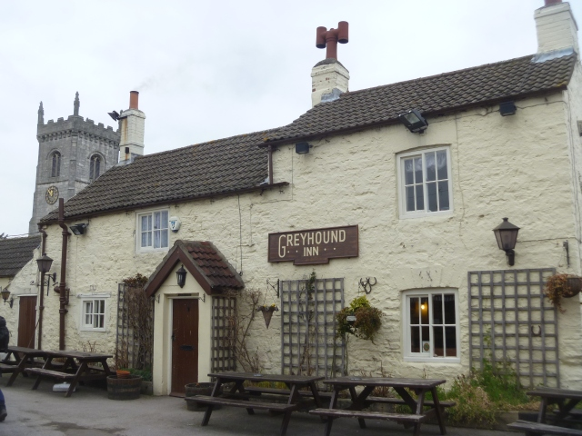 The Greyhound, Saxton