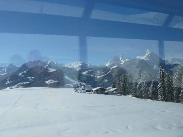 Travelling to Gstaad