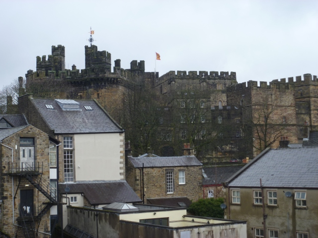 Castle from roof terrace