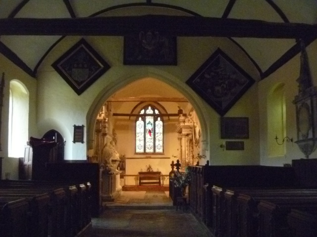 Interior St John's Strensham