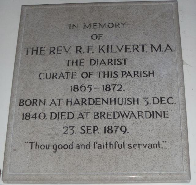 Kilvert Memorial Clyro