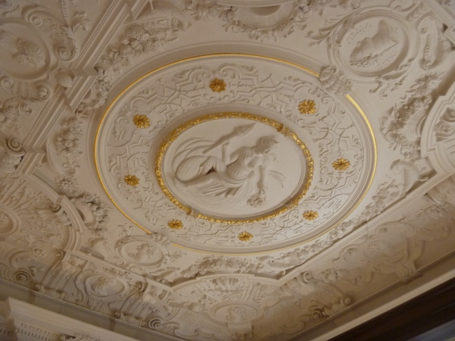Music Room plasterwork 1