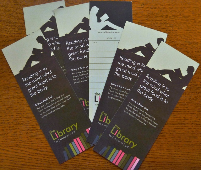 Library book marks