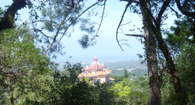 First glimpse of Monserrate Palace