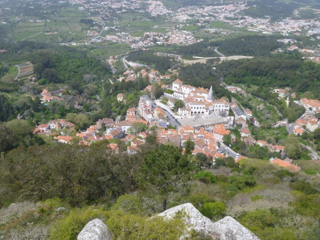 Sintra from the Moorish Castle