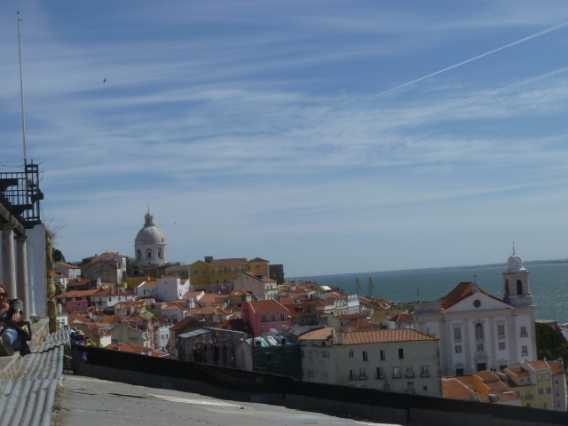 Alfama from Sta Luzia Square