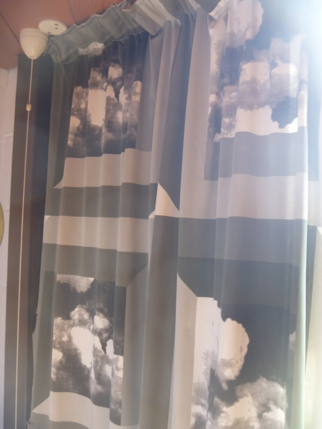 Anderton House 'Nimbus' curtains by Heals
