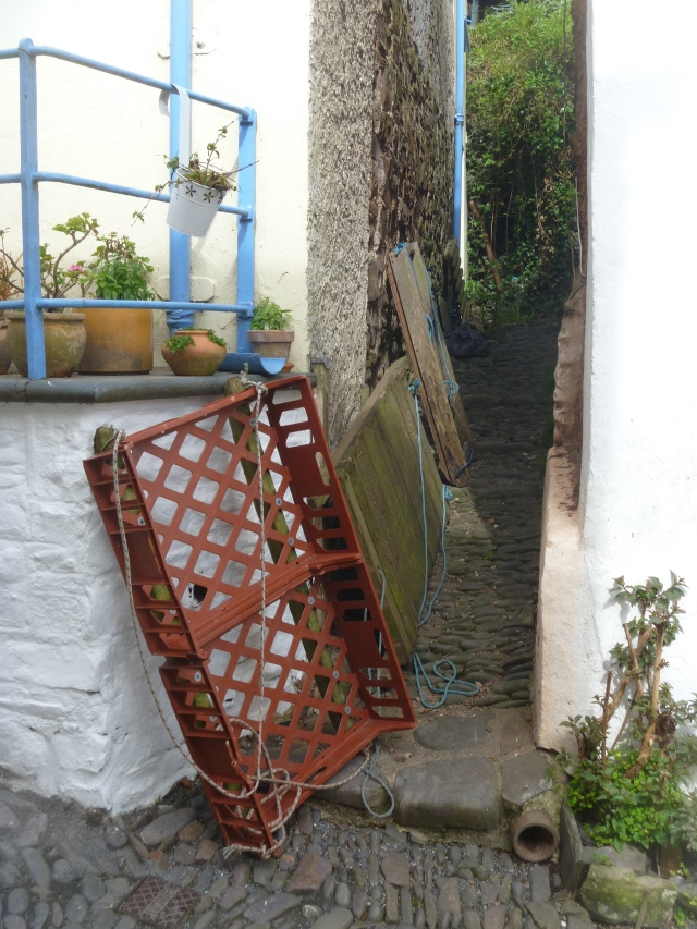 Clovelly Sledge transportation