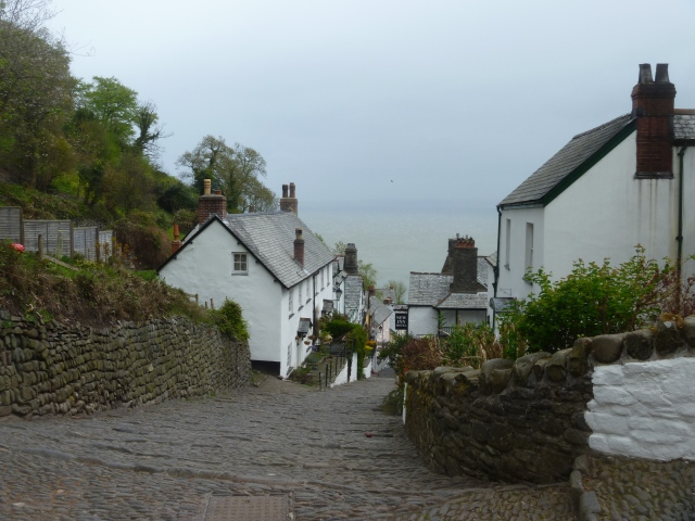 Down the main street in Clovelly