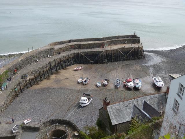 Clovelly Quay