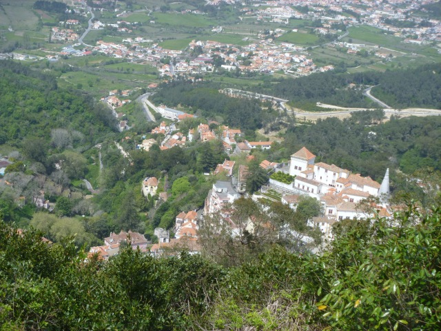 Sintra from Moorish