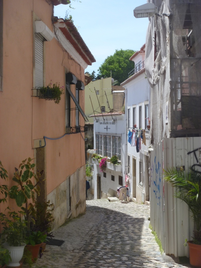 Street in Alfama 1
