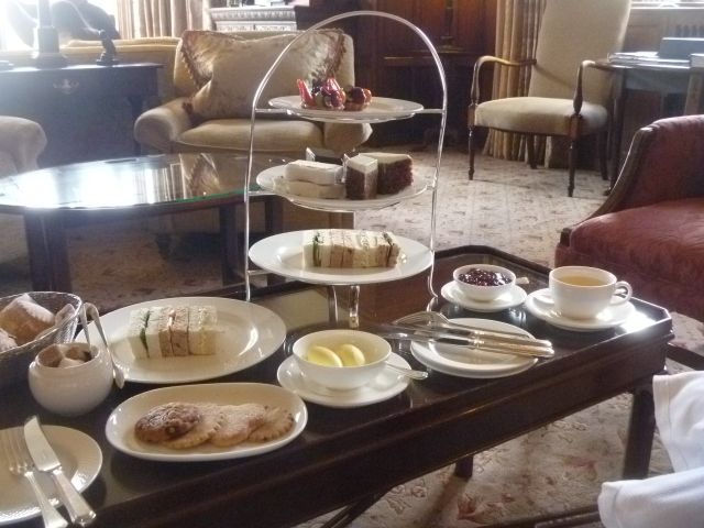 Tea at Gidleigh Park