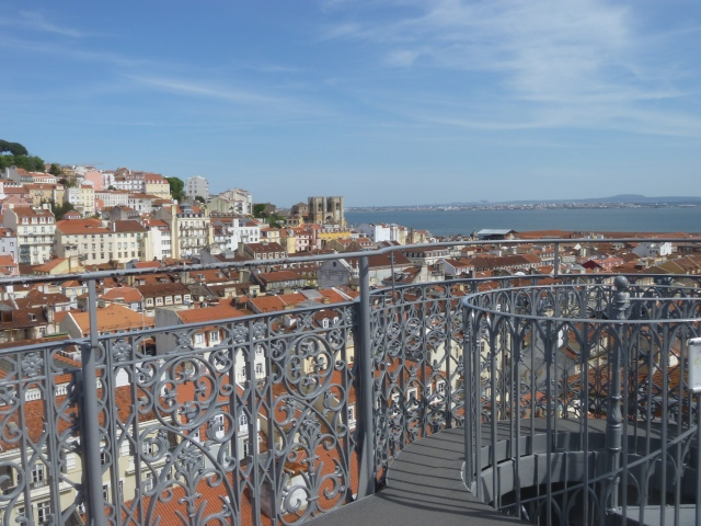 The Cathedral and Tagus from the Viewing Platform