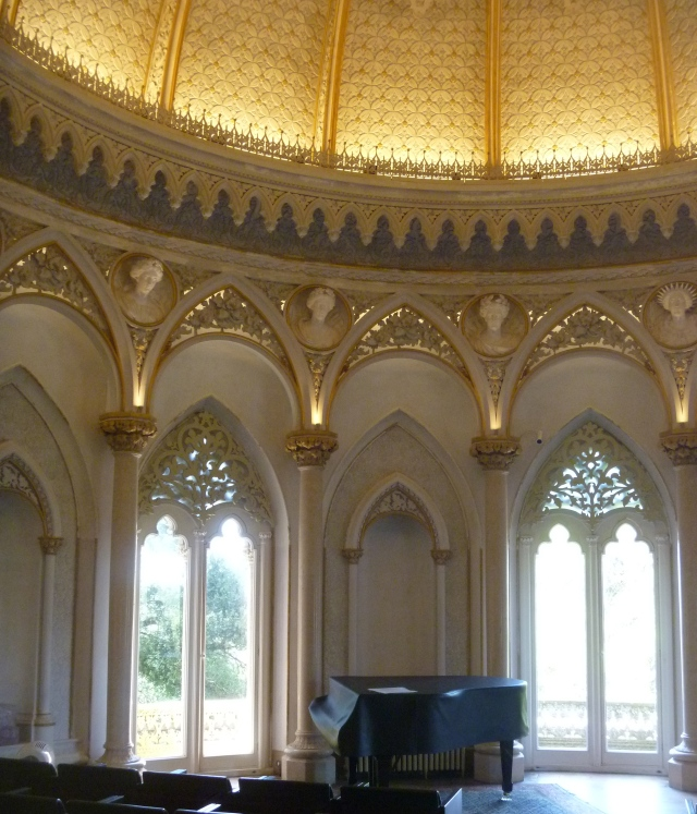 The music room at Monserrate