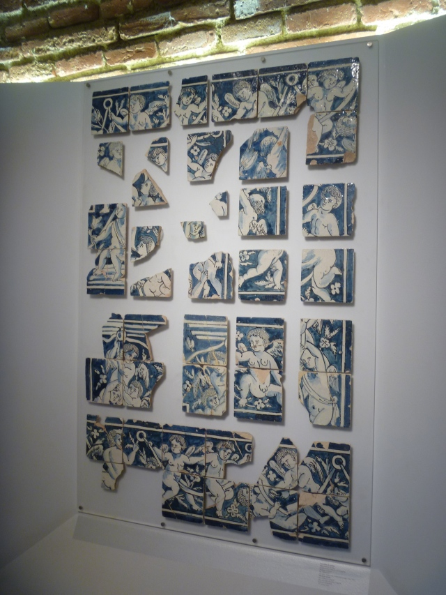 Tile Frame Border in the Archeaological Museum