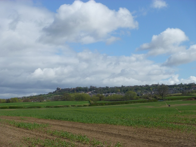 We could still see Bolsover Castle