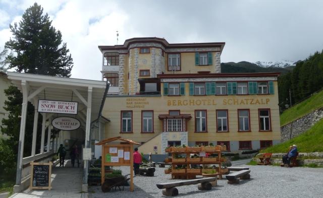 Berghotel Scahtzalp