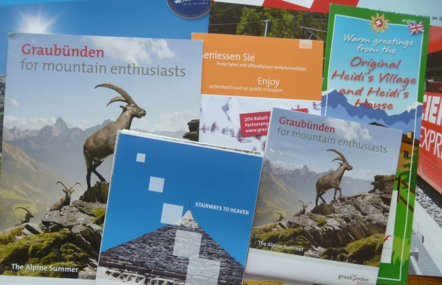 Brochures and maps 1