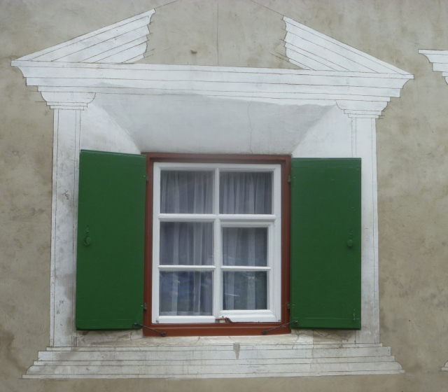 Trompe L'Oeil window