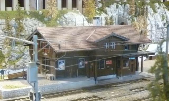 Preda Station Scale 1:45