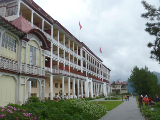 The Berghotel Schatzalp