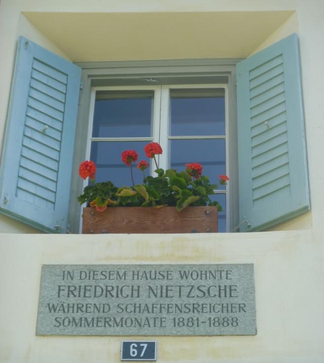 Nietzsche lived here