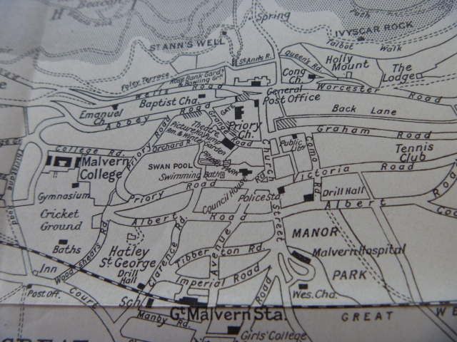 Malvern Map