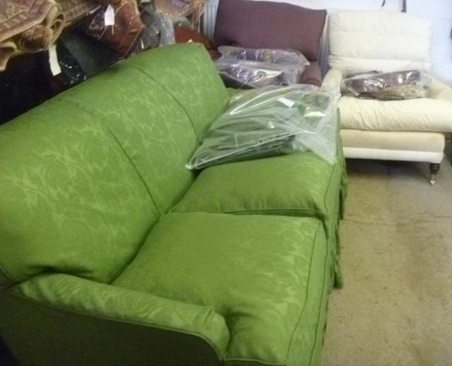 Sofa ready to go