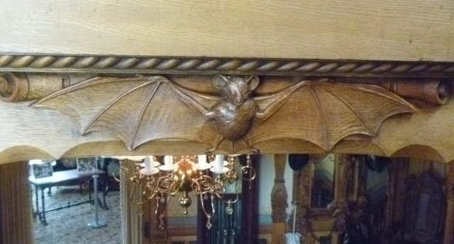 Bat carving
