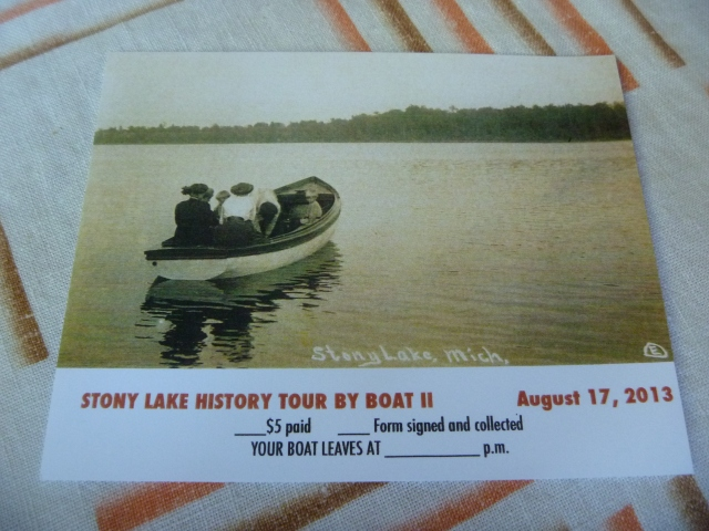 Boat Tour Ticket