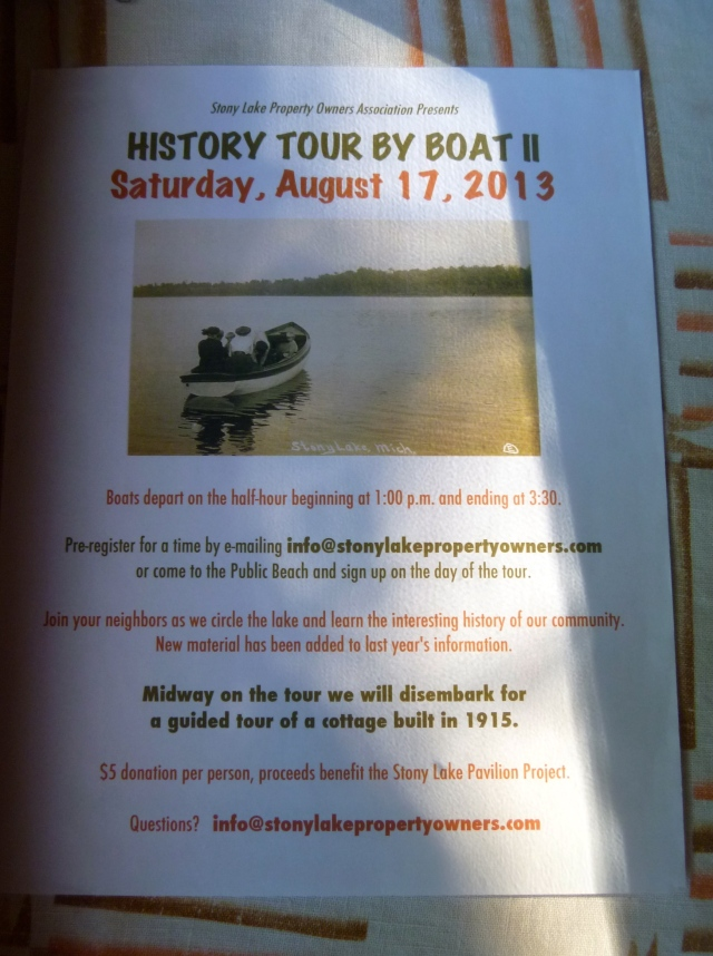 History Tour by Boat
