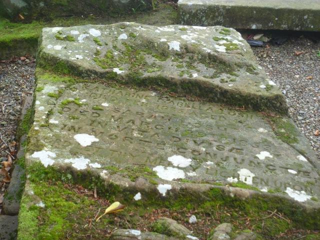 Losh sisters' grave