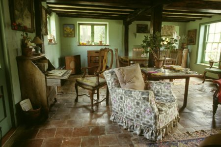 The Sitting Room at Monk's House, East Sussex