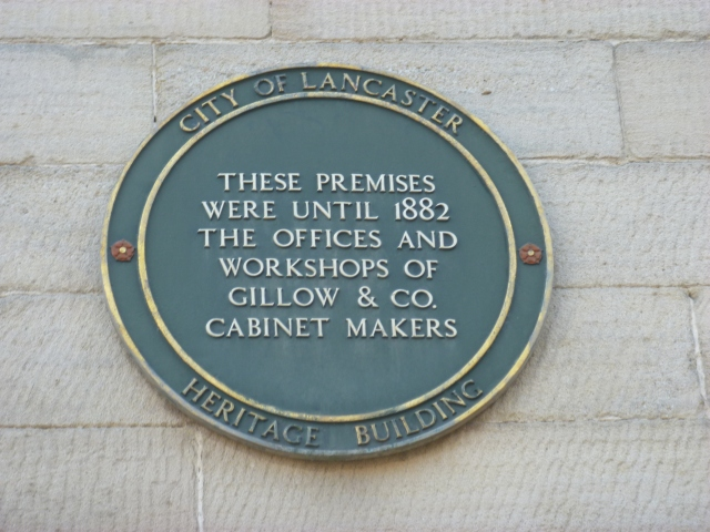 Gillow Plaque