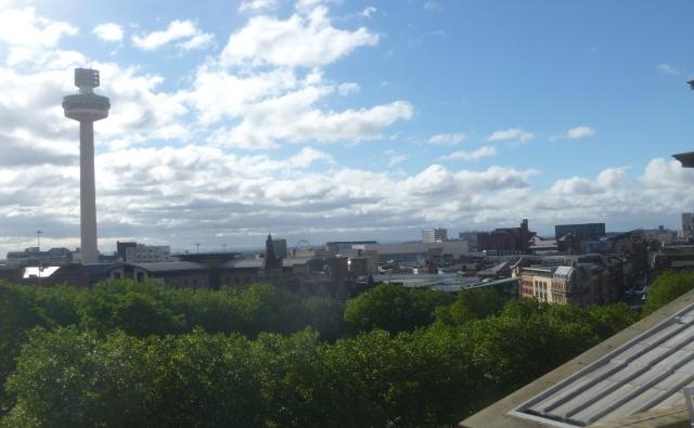 View towards River Mersey