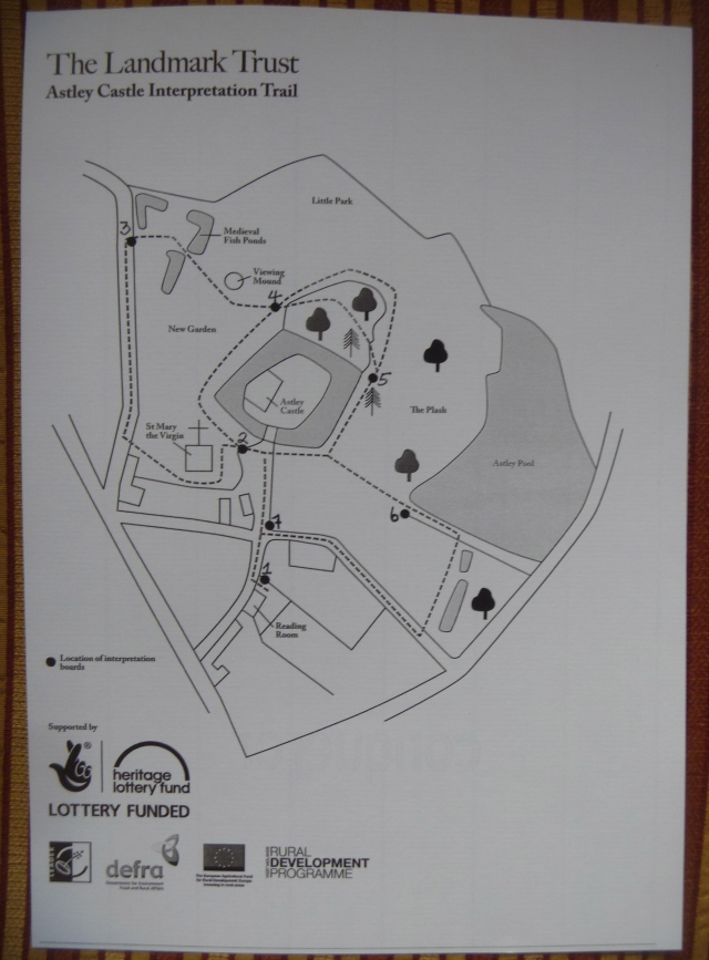 Astley trail map